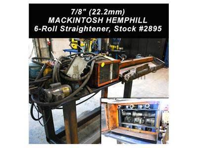 "1/2"" (12.7mm) MACKINTOSH HEMPHILL #AY-HD 6-Roll Straightener - See mor"