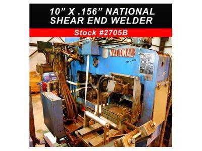 "10"" x .156"" NATIONAL Shear End Welder"
