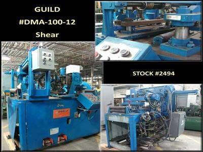"12"" x .100"" GUILD #DMA-100-12 Shear"