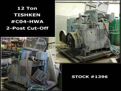 12 Ton TISHKEN 2-Post Cut-Off