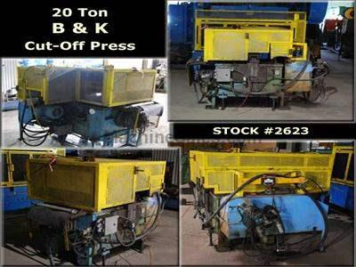 20 Ton B & K Cut-Off Press