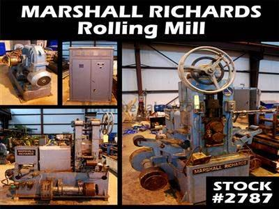 "5-1/2"" x 6"" MARSHALL RICHARDS Rolling Mill"