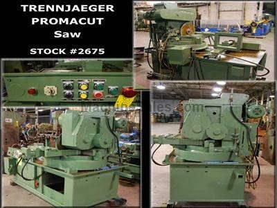 PROMACUT/Trennjaeger #VC 400 HA Circular Cold Saw W/Miter