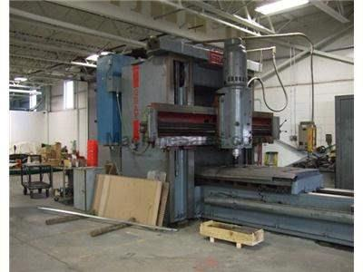 "44"" x 173"" GRAY DOUBLE HOUSING PLANER MILL"