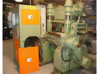 60 TON BRUDERER PRECISION HIGH SPEED 4 PILLAR TYPE PUNCH PRESS
