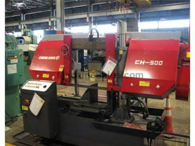 CH - 500 Dual Column Semi Automatic Band Saw