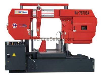 Double Column Semi-Auto Band Saw model WA-7670SA