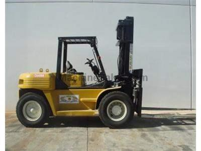 15000LB Forklift, Pneumatic Tires, Side Shift, Automatic Transmission