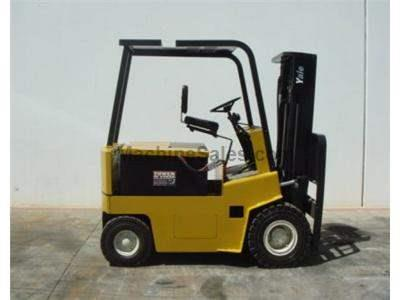 6000LB Forklift, Electric, Pneumatic Tire, 3 Stage  Warrantied Reconditioned Battery