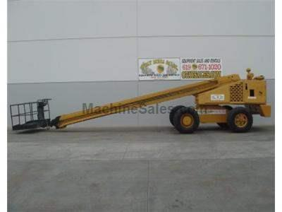 Diesel, 90 Foot Working Height, 8 Foot Basket, Rental Ready, Foam Filled Tires