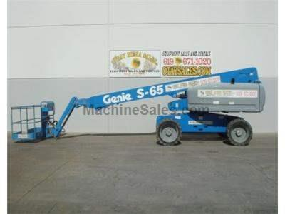 Straight Boomlift with Jib, 4x4, Diesel