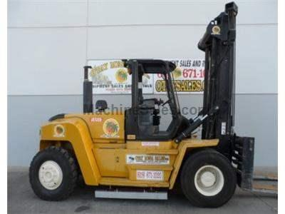 36000LB Forklift, Tier 3, Owned Since New, Side Shift, Fork Positioner, Soft Touch Controls, Diesel
