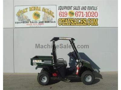 Utility Cart,ATV, Honda 4-Stroke Motor 340cc, Locking Differential, Dump Bed, Hitch, Lights