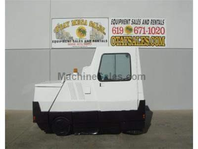 Sweeper, Gasoline, 60 Inch, Center Broom, Side Broom, Cab, Self Dump, Painted, Ready to Work