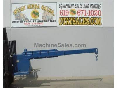 5000LB Boom Attachment for Forklift, 3 Available