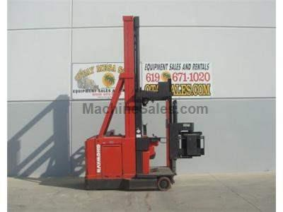 3000LB Forklift, Swing Reach Truck, Electric, Narrow Aisle, 48 Volt, Man Up, 340 Max Reach