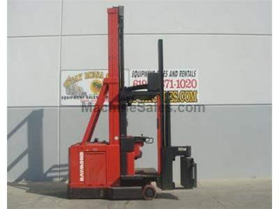 3000LB Forklift, Swing Reach Truck, Electric, Narrow Aisle, 48 Volt, Man Up, 394 Max Reach