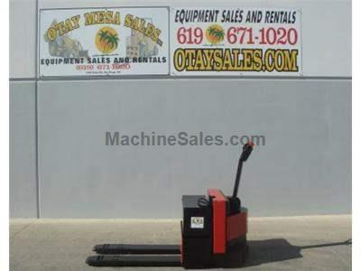 6500LB Electric Pallet Jack, Painted, Warrantied Battery