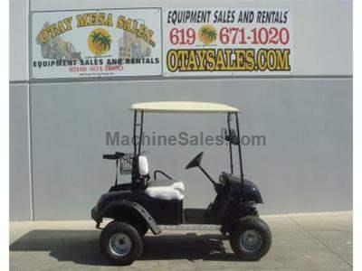 Electric Golf Cart, 48 Volt, Turn Signals, Head and Tail Lights, Lifted, Off Road Tires