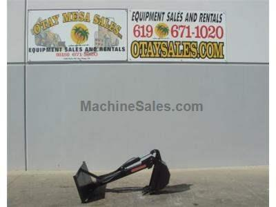 Backhoe Attachment for Skid Steers, Unused