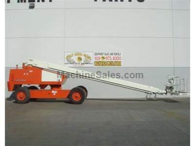 Boomlift, 80 Foot Basket Height, 86 Foot Working Height, Expandable Axle, Power to Platform