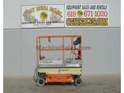 Electric Scissor Lift, Narrow 30 Inch Width, 25 Foot Working Height, Deck Extension