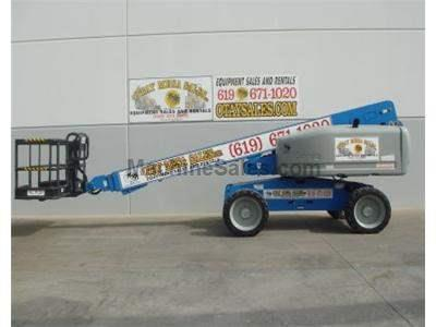 Boomlift, 66 Foot Working Height, Perkins Diesel, 4WD, Power to Platform, Generator, Great Condition