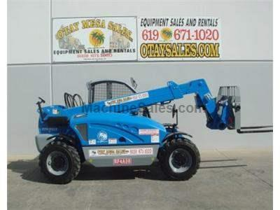 5500LB Telehandler Reach Forklift, 19 Foot Reach, 4 Wheel Drive, 4 Way Steer, Auxiliary Hydraulics