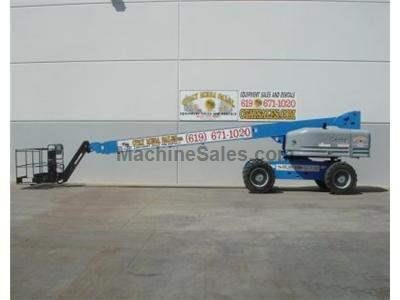 Boomlift, 90+ Foot Working Height, 4WD, JIB, Perkins Diesel, Foam Filled Tires, Low Hours