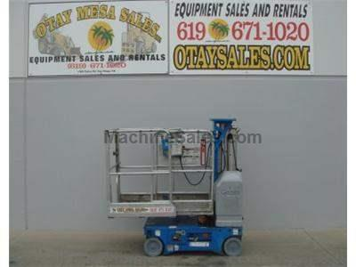 Single Man Lift, 18 foot Working Height, Self Propelled, 500lb Capacity, Compact Design 2.5 feet Wide