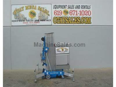 Single Man Lift, 36 Foot Working Height, Self Propelled, 350lb Capacity, Compact Design 2.5 feet Wide