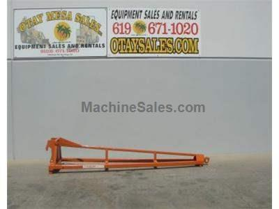 Truss Boom Attachment for Forklifts, 12 Foot Fixed Length