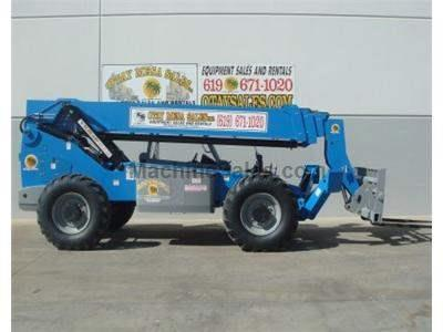 10000LB Telehandler Reach Forklift, 56 Foot Reach, Body Tilt, Diesel, 4 Wheel Drive
