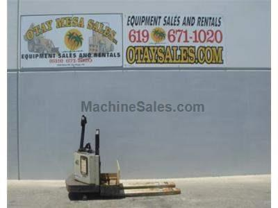 4000LB Ride On Electric Pallet Jack, 24 Volt, Includes Charger, Warrantied Battery