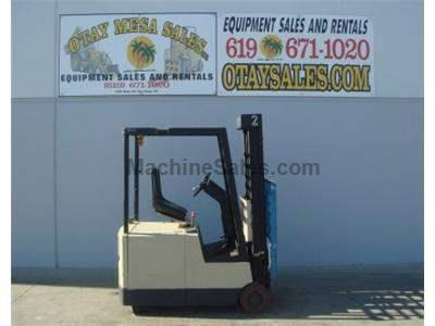 3000LB Electric Forklift, 3 Wheel Sit Down, Compact, Warrantied Battery, Includes Charger