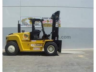 36000LB Forklift, Pneumatic Tires, Diesel, Side Shift, 8 Foot Forks