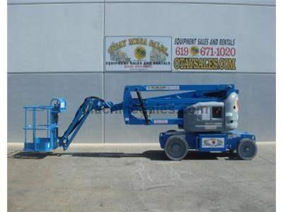 Articulated Knuckle Boomlift, 46 Foot Working Height, 23 Foot Horizontal Reach, Electric AC Drive
