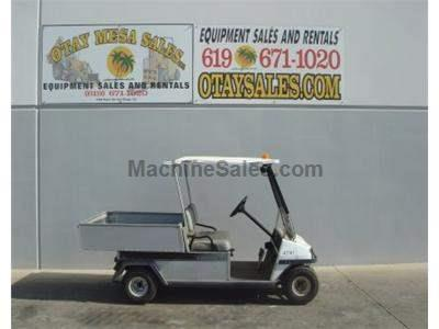 Electric Utility Cart with Flatbed, Turf Tires