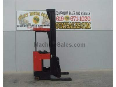 4500LB Forklift, Reach Truck, 300 Inch Lift, Soft Touch Controls, Warrantied Battery, Includes Charger