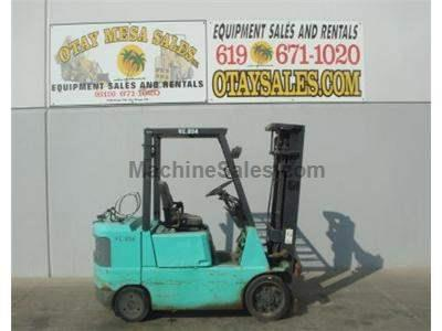 6000LB Forklift, Side Shift, Cushion Tires, Propane, Automatic