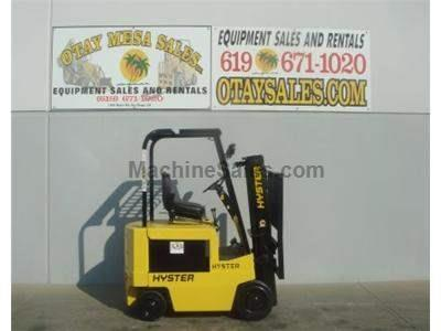 3500LB Forklift, Compact Electric 4 Wheel Sit Down, 3 Stage Mast, Warrantied Battery