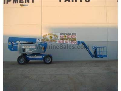 Articulated Boomlift, 86 Foot Working Height, 4WD, Foam Filled Tires, Power to Platform