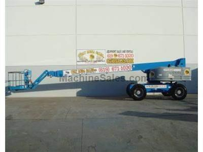 Boomlift, 90+ Foot Working Height, JIB, 4x4, Diesel, Generator, Power to Platform, Expandable Axle