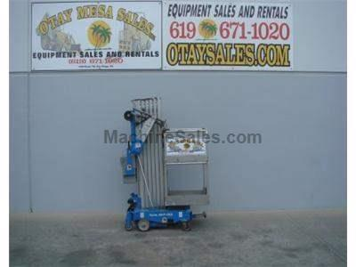 Single Man Lift, 36 Foot Working Height, 30 Foot Platform, 12v, On Board Charger, Power to Platform