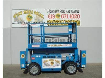 39 Foot Working Height, 4x4, All Terrain, Dual Fuel, 68 Inches Wide, Deck Extension