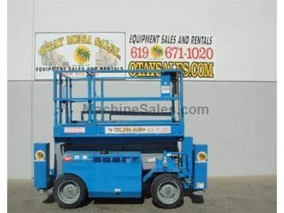 41 Foot Working Height, 4x4, All Terrain, Dual Fuel, 68 Inches Wide, Deck Extension
