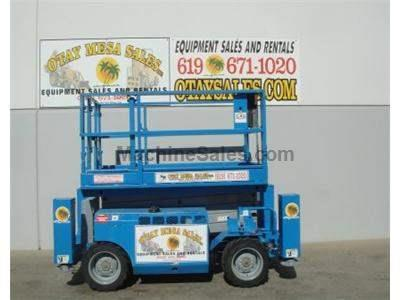 44 Foot Working Height, 4x4, All Terrain, Dual Fuel, 68 Inches Wide, Deck Extension