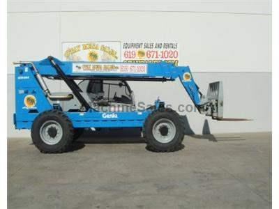 8000LB Telehandler Reach Truck, 44 Foot Reach Height, Body Tilt, Diesel, 4 Wheel Drive