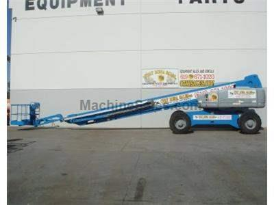 Boomlift, 125 Foot Reach, 4x4, with JIB, Expandable Axle, Power to Platform