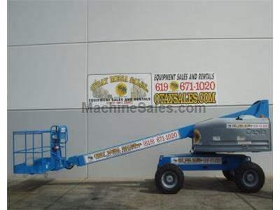 Boomlift, 46 Foot Working Height, Dual Fuel, 4WD, Power to Platform